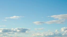 移动时间间隔的云彩 股票视频