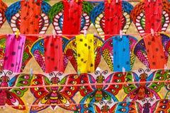 动物五颜六色的风筝 免版税库存照片