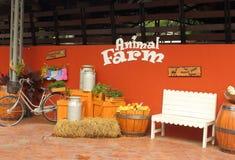 动物农场,梦想世界游乐园,曼谷,泰国 图库摄影