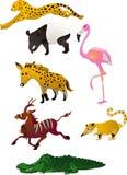 动物动画片向量 库存照片