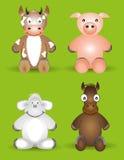 动物动画片向量 库存图片