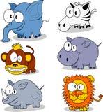 动物动画片 免版税库存图片