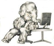 动物在线当事人 免版税图库摄影