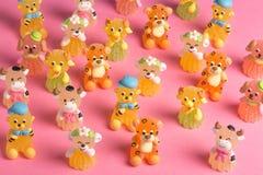 动物型甜点 免版税库存照片