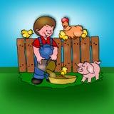 动物婴孩 图库摄影