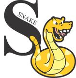 动物字母表黄色蛇 库存图片