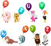 动物字母表 免版税库存照片