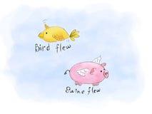 动物流感 免版税库存图片