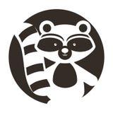 动物浣熊动画片 库存照片