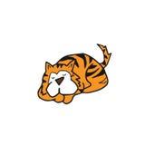动物猫睡觉 免版税库存图片