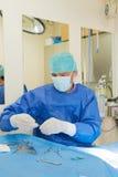 动物的手术 免版税库存照片