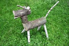 动物的木工作 免版税库存照片