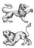 动物神仙向量 免版税库存图片