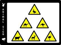 动物符号 库存例证
