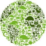 动物行星 免版税图库摄影