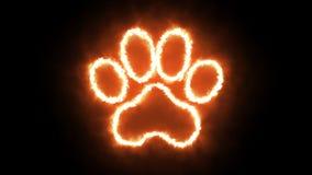 动物轨道火以与被隔绝的阿尔法透明度渠道的PNG格式 向量例证