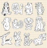 动物逗人喜爱的凹道 免版税库存图片