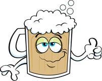 动画片啤酒杯 库存照片