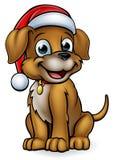 动画片圣诞节爱犬 向量例证