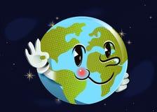 动画片地球 图库摄影