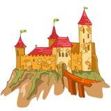 动画片城堡 免版税图库摄影