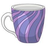 动画片家庭厨房杯子 库存图片