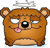 动画片愚蠢的小熊 库存例证