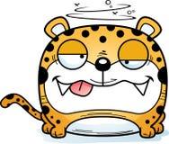 动画片愚蠢的豹子 皇族释放例证