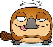 动画片愚蠢的Platypus 皇族释放例证