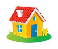 动画片房子 向量例证