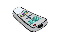 动画片控制遥控 免版税库存照片