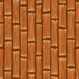 动画片木板条地板 无缝的手油漆纹理 免版税库存照片