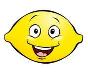动画片柠檬 库存例证