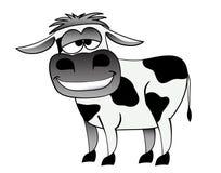 动画片母牛 免版税库存照片