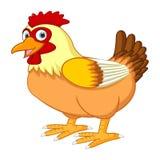 动画片母鸡摆在 皇族释放例证