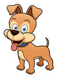 动画片狗 向量例证