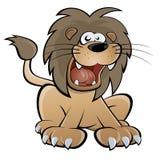 动画片狮子 免版税库存照片