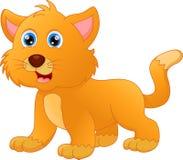 动画片猫逗人喜爱的例证向量 库存照片