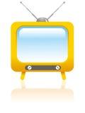 动画片称呼了电视 免版税库存照片