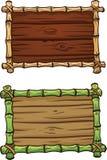 动画片竹子框架 皇族释放例证