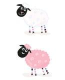 动画片绵羊 免版税库存图片