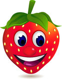 动画片草莓 库存照片
