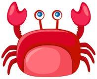 动画片螃蟹 库存图片