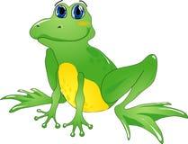 动画片青蛙 库存图片