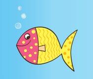 动画片鱼向量 库存图片