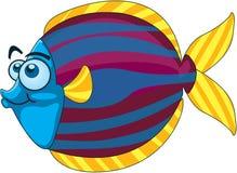 动画片鱼 库存图片