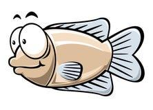 动画片鱼 免版税库存照片