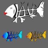 动画片鱼 向量例证