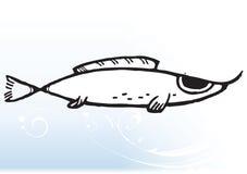 动画片鱼 库存照片
