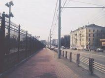移动的城市 免版税图库摄影